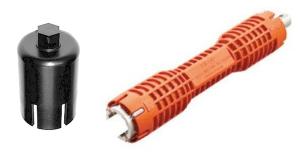 Tools for removing Sloan Flushmate Cartridge