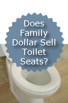 Does Family Dollar Sell Toilet Seats?