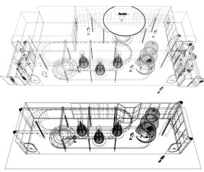 Form•Z plans for booth