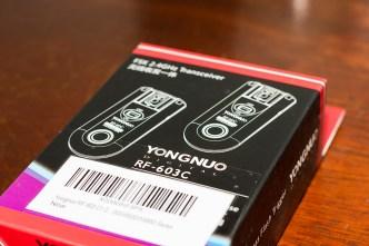 Yongnuo RF-603c box