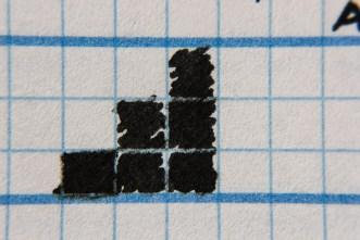 Noodler's Ahab ink chart