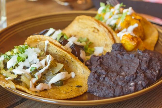 vegan tacos from gracias madre