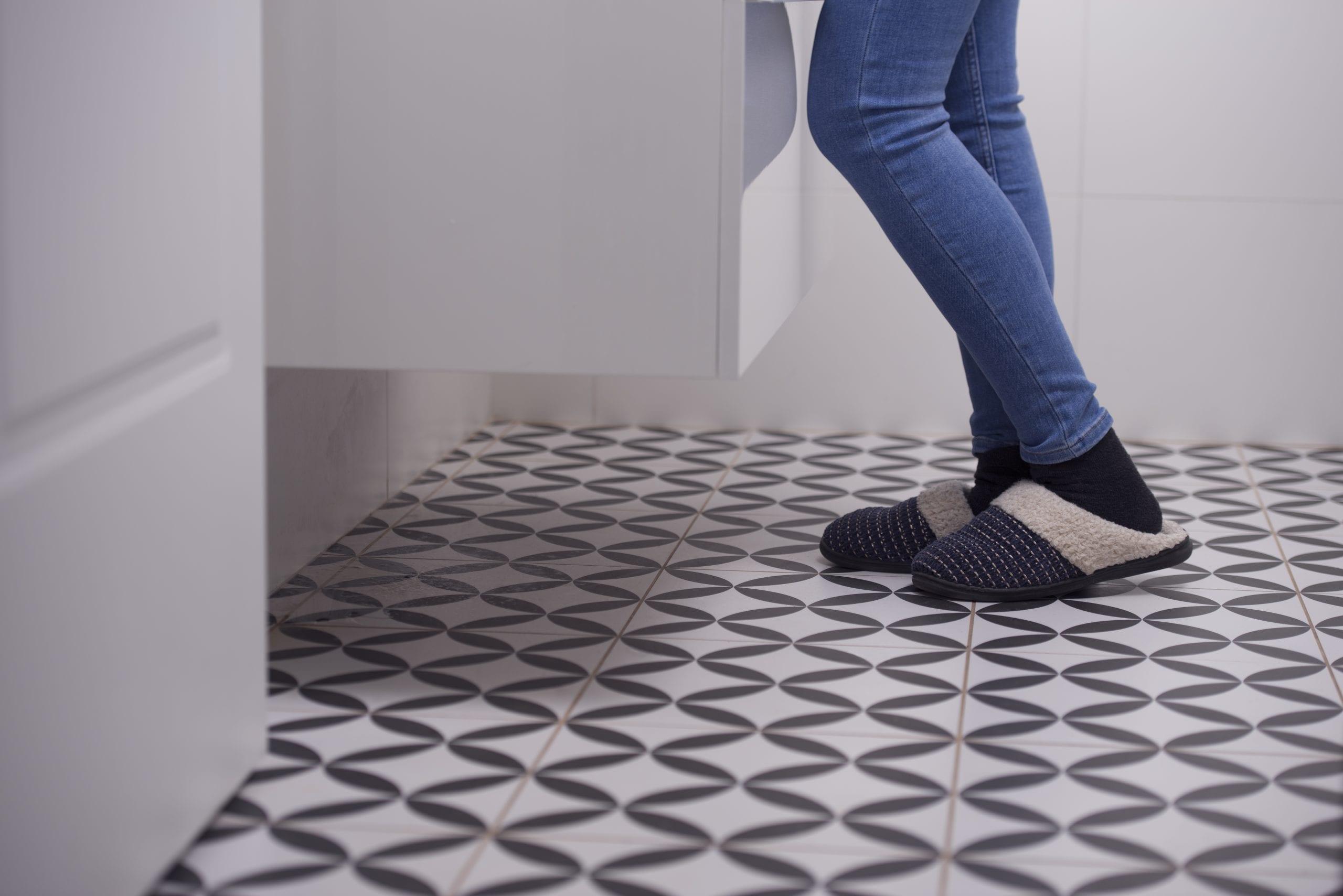non slip flooring for your bathroom