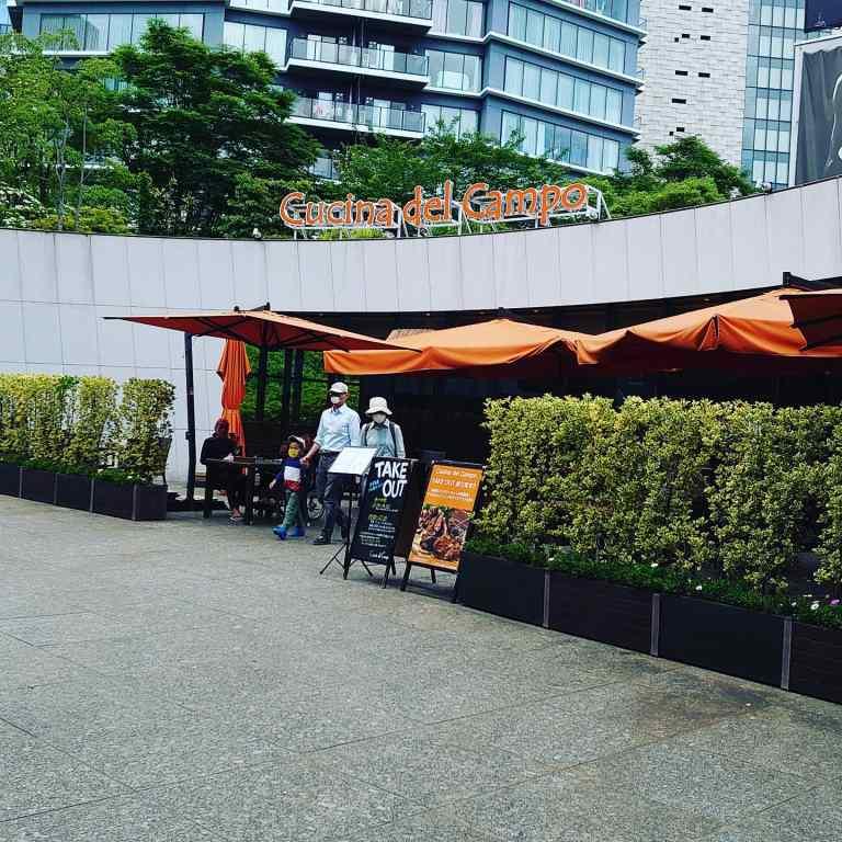 新宿にあるクッチーナデルカンポ
