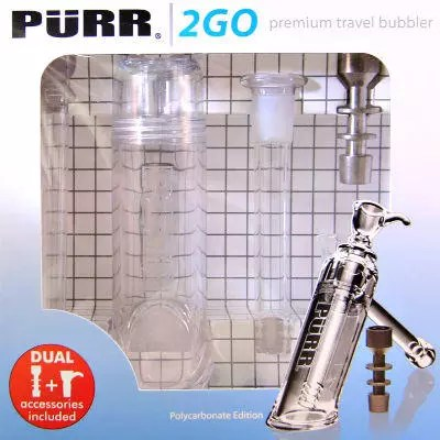 Purr Glass Travel Bubbler Review