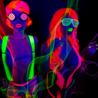 Girls UV Costume Party