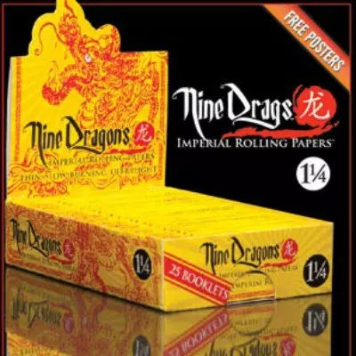 Nine Dragons Rolling Papers Review
