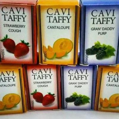 Cavi Taffy Marijuana Edibles Review