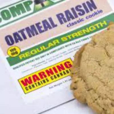 Oatmeal Raisin Cookies Marijuana Edibles Review