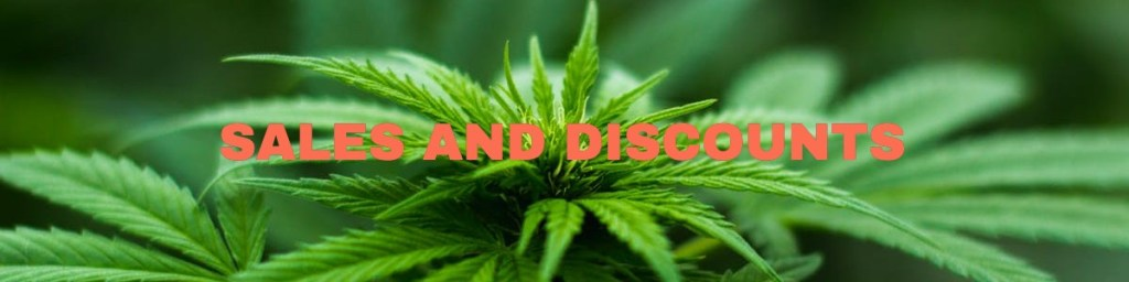 Sales and Discounts on Cannabis Leaves