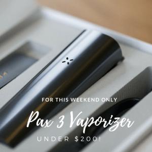 PAX 3 Vaporizer Namaste Vapes Cyber Monday Sale