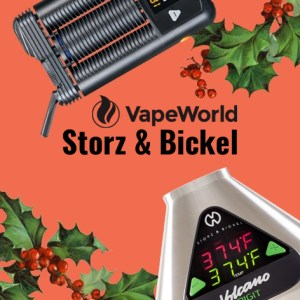 Vape World Storz and Bickel Vape World Cyber Monday Coupon Code