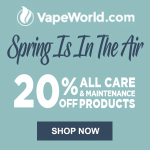 Spring Cleaning Vape World Coupon Code