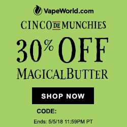 Cinco De Munchies Vape World Coupon Code
