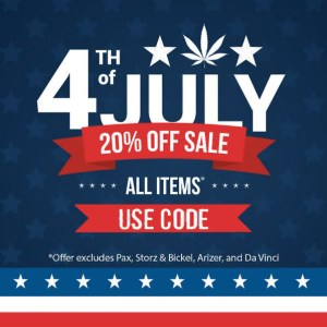 4th of July Sale NamasteVapes Discount code