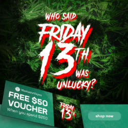 Freaky Friday the 13 NamasteVapes Voucher
