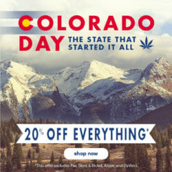 Colorado Day Sale NamasteVapes Discount Code