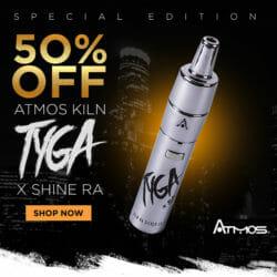 Tyga x Shine Kiln RA Vaporizer VaporNation Coupon Code