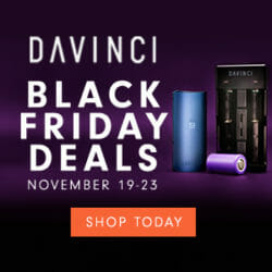 Black Friday DaVinci Vaporizer Coupon Code