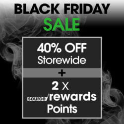 Black Friday Sale SOURCE Vapes Coupon Code