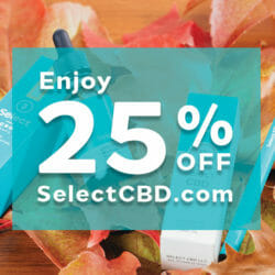 Fall Select CBD Discount Sale