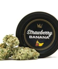 west coast cure cans strawberry banana