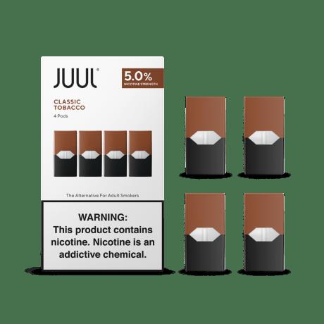 classic tobacco juul pods