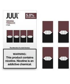 virgina tobacco juul pods