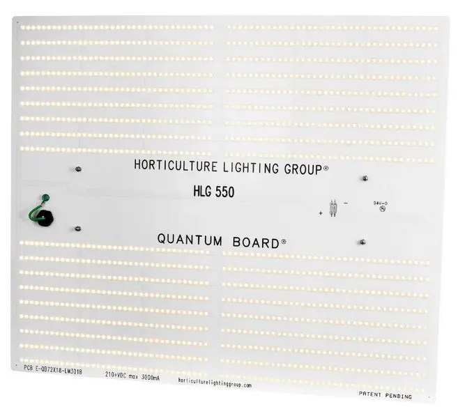 hlg 550 v2 grow light everything to
