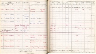 Logbook pages 19-20