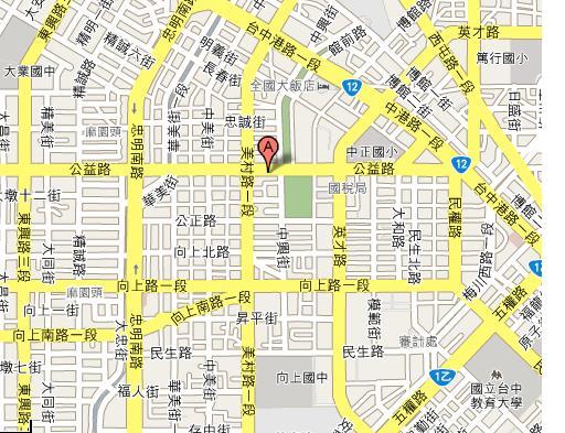 臺中市五權五街地圖|地圖 - 綠蟲網 - BidWiperShare.com
