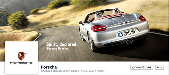 Porsche Facebook header