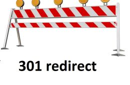 Redirect 301 dismissed dynamic to new static