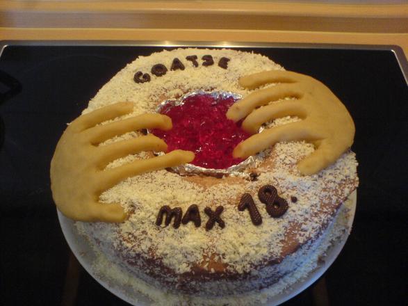 Goatse-cake