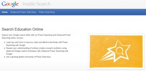 homepage van powersearchingwithgoogle.com