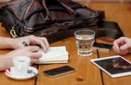Koffie drinken om te netwerken