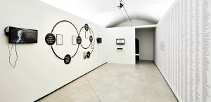 Installation at Unstable Territories, at Centre for Contemporary Culture Strozzina, Florence, Italy. 2013