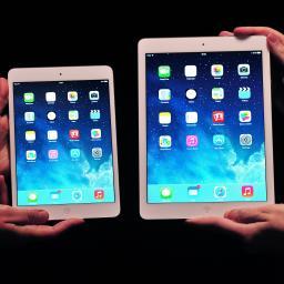 Nieuwe iPads in Apple Stores