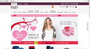 Website V&D op 14-02-2015