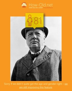 Churchill how old
