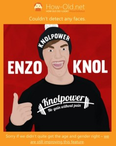 Enzo Knol how old
