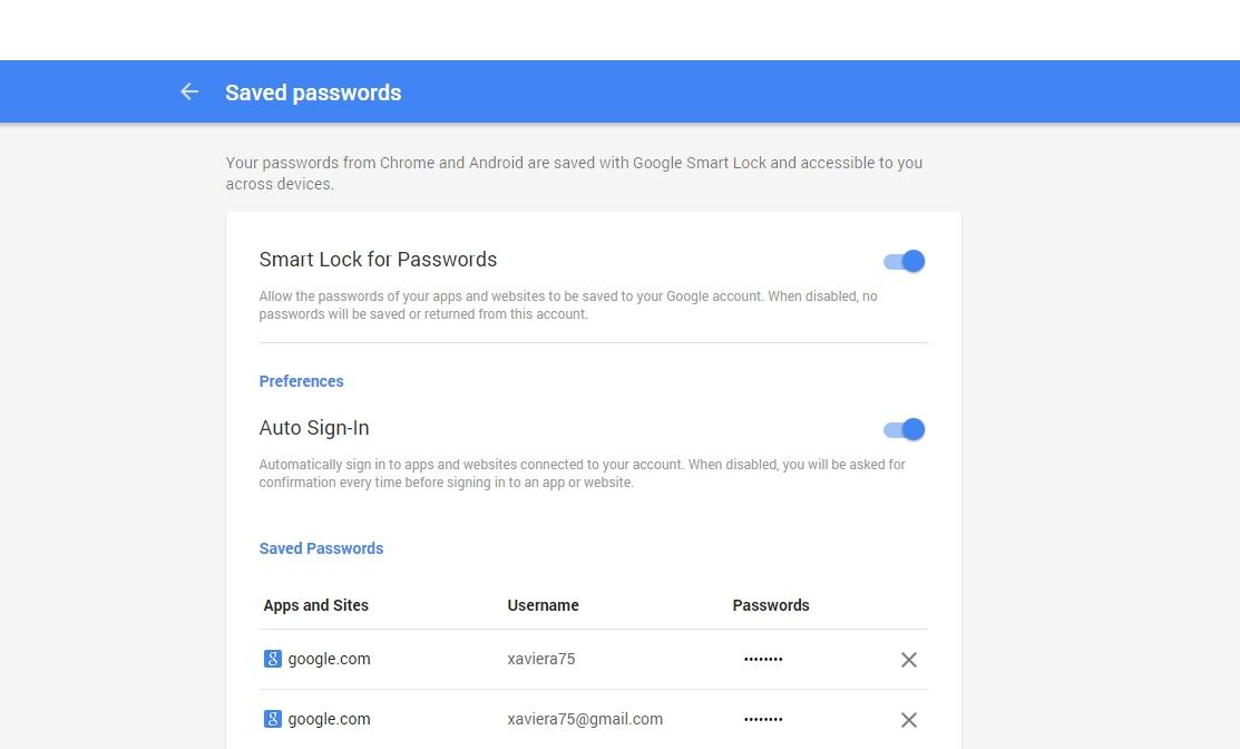 Klik op het oog om je wachtwoord te bekijken.