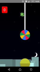 screenshot van Flappy Lollipop