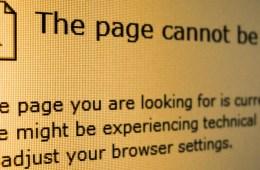 404 standaard error message