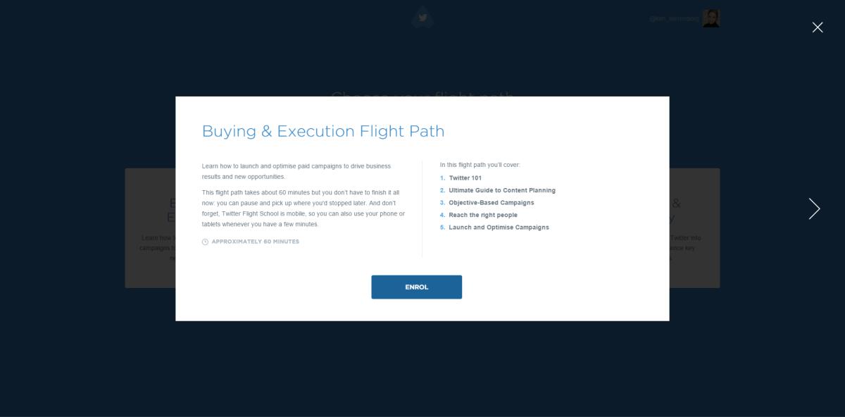 flight path twitter buying