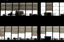 leeg kantoor werk ontwijkend gedrag