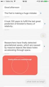 Quartz app Meer nieuws