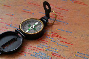 Kompas locatie