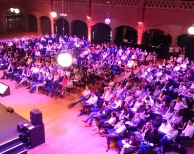 Zaal tijdens Digital Marketing Live 2017