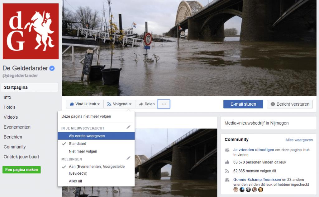 veranderingen facebook tijdlijn